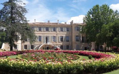 Ein Nachmittag im Park von Château d'Estoublon