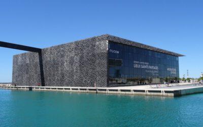 Das Mucem – markante Architektur am Alten Hafen von Marseille